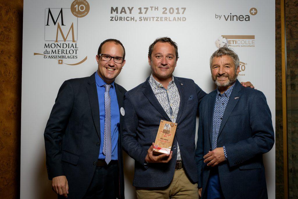 Mondial du Merlot 2017 - Remise des prix
