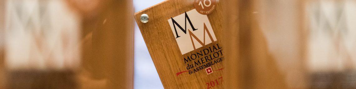 Mondial du Merlot 2017 - Trophée